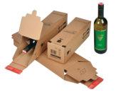 Imballo per bottiglie, cm 7,4(l)x30,5(h)x7,4(p)