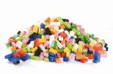 Costruzioni in plastica, 100 pezzi