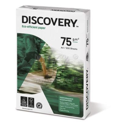Carta Discovery® 75 per Fotocopie, Stampanti, A4, 75 g, 500 Fogli