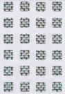 24 ETICHETTE ADESIVE OLOGRAFICHE PER CONTRASSEGNO INVALIDI