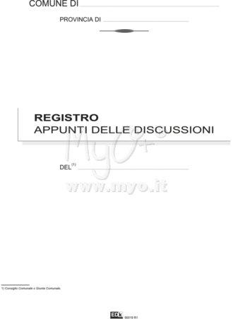 APPUNTI RIUNIONI E DISCUSSIONI GIUNTA/CONSIGLIO