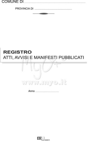 ATTI AVVISI E MANIFESTI PUBBLICATI