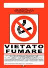 """CARTELLO """"VIETATO FUMARE"""" - CONFEZIONE DA 10, 090055"""