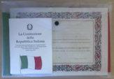 SIMBOLI ISTITUZIONALI PER CELEBRAZIONE DEL CONSEGUIMENTO DELLA CITTADINANZA ITALIANA