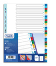 Divisori per Quaderno ad Anelli in Ppl, Disponibili in Diversi Formati, 31 tacche numeriche