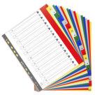 Divisori numerici in ppl A4 maxi, 20 alfabetiche