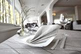 Coordinato tavola Perle, tovaglia cm 100x100