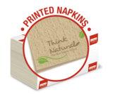 Tovaglioli intercalati Natural, carta riciclata Fiberpack