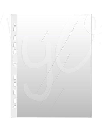 Buste Trasparenti C10 a Perforazione Universale con Banda Rinforzata