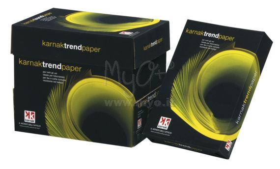 Carta Trend per Fotocopie, Stampanti, A4 ed A3, 80 g, 500 Fogli