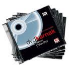 DVD-rw e DVD+rw, dvd+rw  slim case 10 pezzi