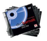 DVD-rw e DVD+rw, dvd-rw slim case 10 pezzi