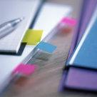 Post-it® Index Mini Full Color, 5 Blocchi, Colori Fluo