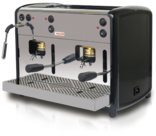 Macchina caffè a cialde doppio braccio, per cialde f.to standard ESE 44 mm