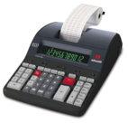 Calcolatrice Logos 902, da tavolo con stampante