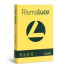 Carta Colorata Rismaluce per Fotocopie, Stampanti, 90 g, 300 Fogli, giallo sole - 300 fogli