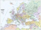 Cartine scolastiche murali, EUROPA politica/fisica