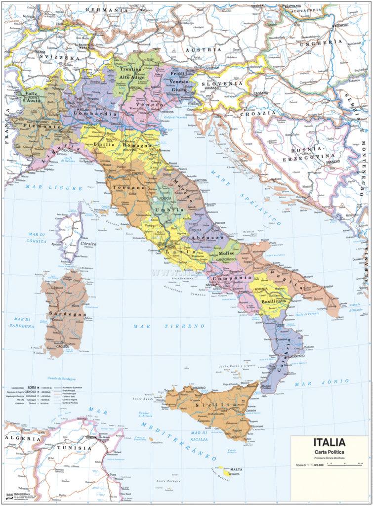 Cartina Fisica Italia Leggibile.Cartine Scolastiche Murali Acquista In Myo S P A Cancelleria