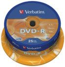 Dvd-r e dvd+r, dvd-r - spindle 25 pezzi