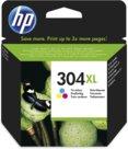 HP 304XL Originale Resa elevata (XL) Ciano, Magenta, Giallo, 0Y0112
