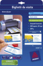 Biglietti da visita Avery, per stampanti laser a colori