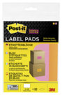 Post-it® Super Sticky Etichette Rimovibili, 73mm x 117mm