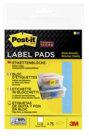 Post-it® Super Sticky, Etichette Rimovibili, Vari Formati, 73mm x 73mm