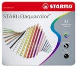 Matite Colorate Aquacolor, Esagonali, Colori Assortiti, 24 assortiti