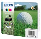 Epson Golf ball C13T34764010 cartuccia d'inchiostro 1 pezzo(i) Originale Resa elevata (XL) Nero, Ciano, Magenta, Giallo, 0Y1439