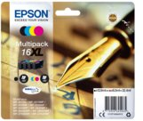 Epson Pen and crossword C13T16364012 cartuccia d'inchiostro 1 pezzo(i) Originale Nero, Ciano, Magenta, Giallo, 079028