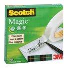 Scotch Magic 810, Nastro Adesivo Invisibile, Trasparente, cm. 25,5x35, 66m x 19mm - singolo