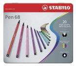 Pennarelli Pen 68, 20 assortiti