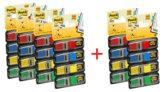 Post-it® Index Mini Value Pack, 6 Confezioni da 4 Blocchetti
