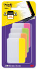 Post-it® Index Strong, 4 colori neon