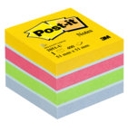 Post-it® Notes Minicubo, ultra color