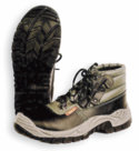 Scarpa alta nera EN 345  S1P