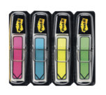 Post-it® Index Freccia, 4 Blocchetti, 12 x 43 mm, colori vivaci