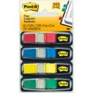 Post-it® Index Mini, 4 Blocchi, 12 x 43 mm, colori classici