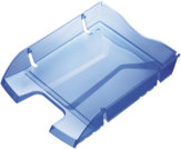 Portacorrispondenza GreenLogic, blu trasparente