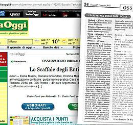 Recensione di un volume di EDK su ItaliaOggi