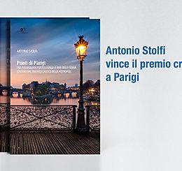 Antonio Stolfi vince il premio critica a Parigi