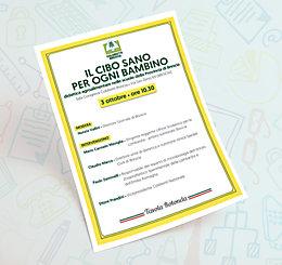 MyO & Coldiretti sempre insieme! Impresa Verde - Il Cibo Sano per ogni Bambino