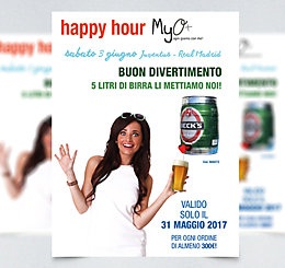 Happy Hour Finale Champions League - Juventus VS Real Madrid 2017