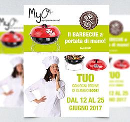 Promozione Barbecue Portatile MyO 2017