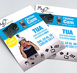 Promozione Action Cam iSnatch MyO luglio 2017