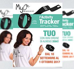Promozione Activity Tracker MyO settembre 2017