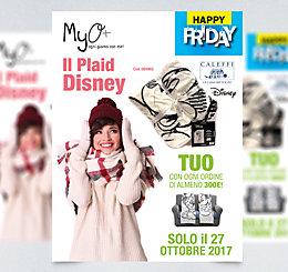 Happy Friday Plaid Caleffi Disney MyO 2017