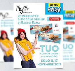 Happy Friday Boccini e Baci di Dama Grondona MyO 2017