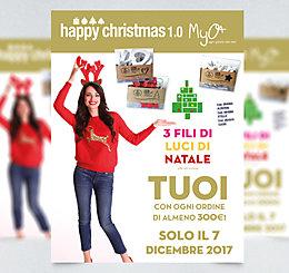 Happy Christmas 1.0! 3 Fili di Luci di Natale