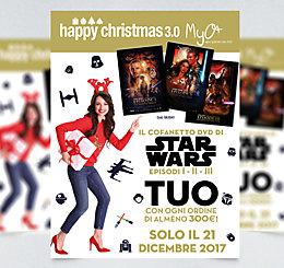 Happy Christmas 3.0! STAR WARS DVD EPISODE I - II - III